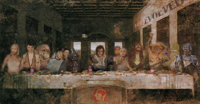 The Best Alternatives of Da Vinci's The Last Supper (26 pics)