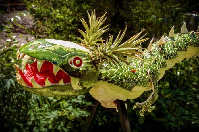 Watermelon Dragon (4 pics)