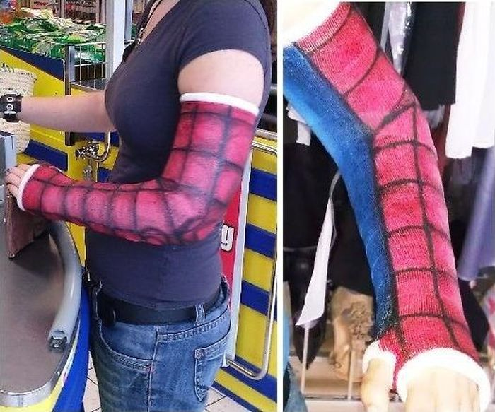 Cool Spiderman Cast Drawing (4 pics)