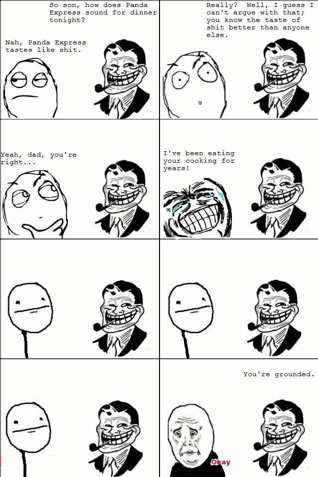 The Best of Troll Dad Rage Comics (16 pics)