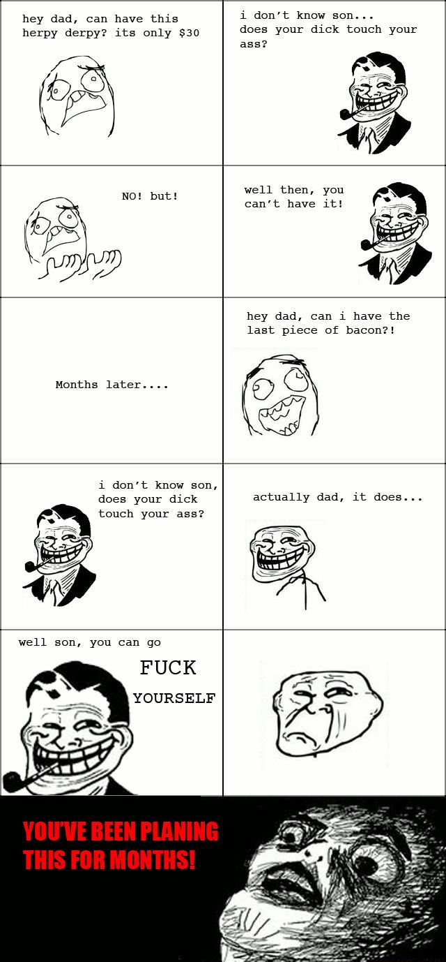 The Best of Troll Dad Rage Comics (16 pics)