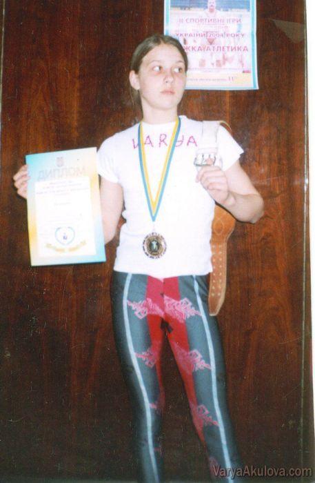 La chica más fuerte del mundo: Varya Akulova