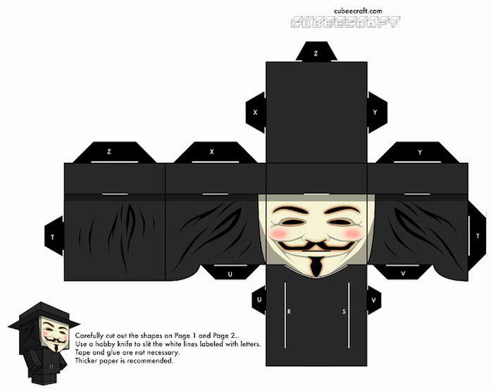 Anonymous Cubeecraft - Vendetta Cubeecraft (2 pics)