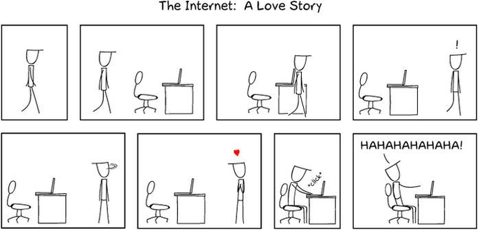 The Internet: A Love Story (3 pics)