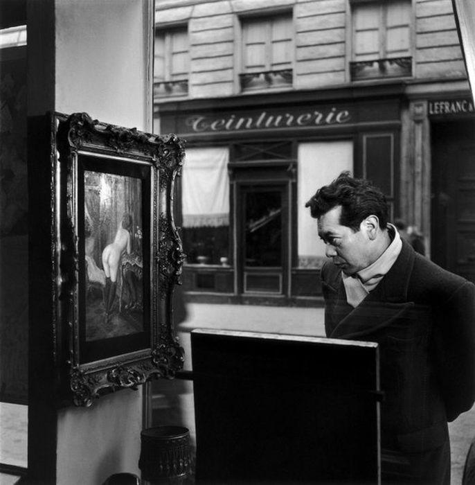 Naked Girl Shocked Parisians in 1948 (8 pics)