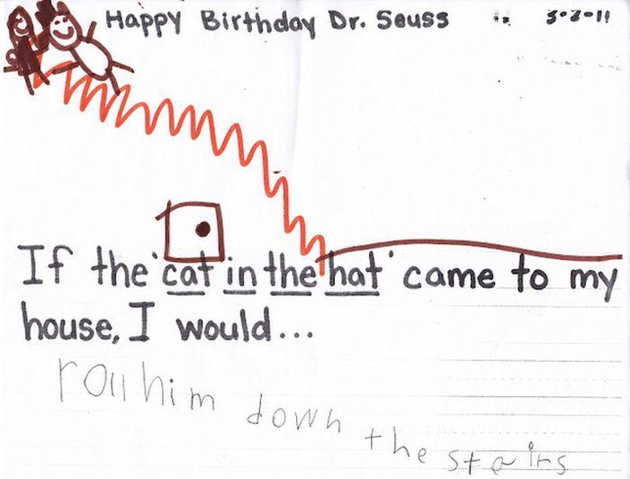 Bizarre Children Drawings (20 pics)