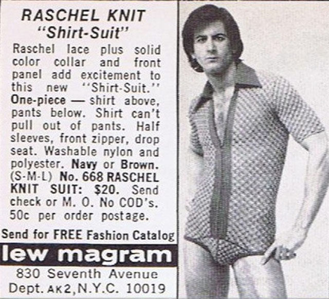 Bizarre Fashion of the 1970s (25 pics)