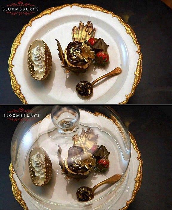 Golden Phoenix Cupcake (6 pics)