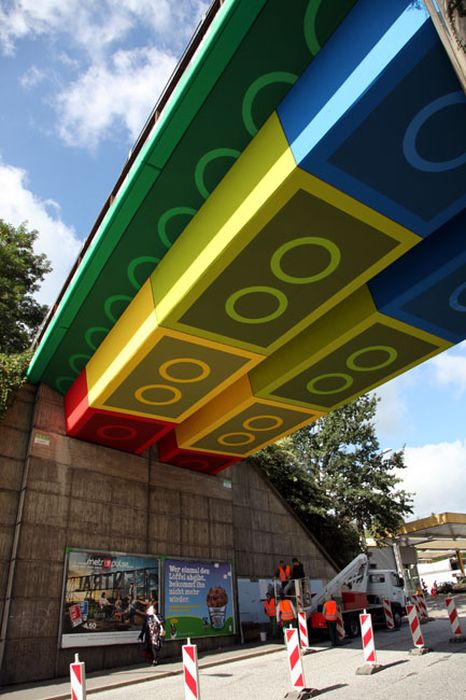 Lego Bridge in Germany (8 pics)