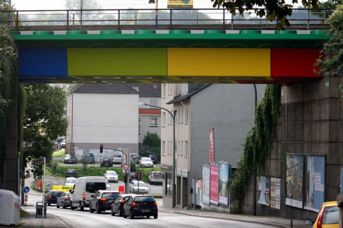Lego Bridge in Germany (8 pics)