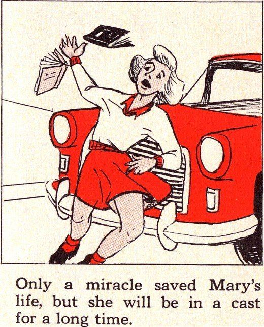 Official Safety Manual for American Children 50s (17 pics)