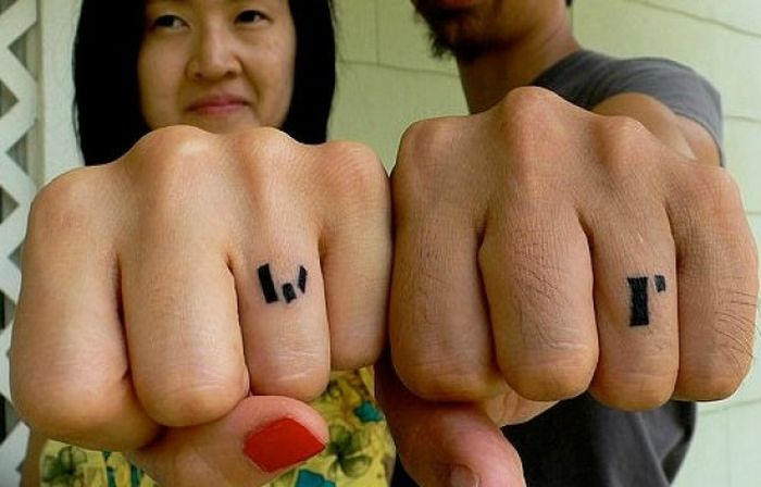 The Best Couple Tattoos. Part 2 (25 pics)