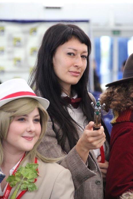 Chicas cosplay en la Comic-Con 2012. Crossplay_01