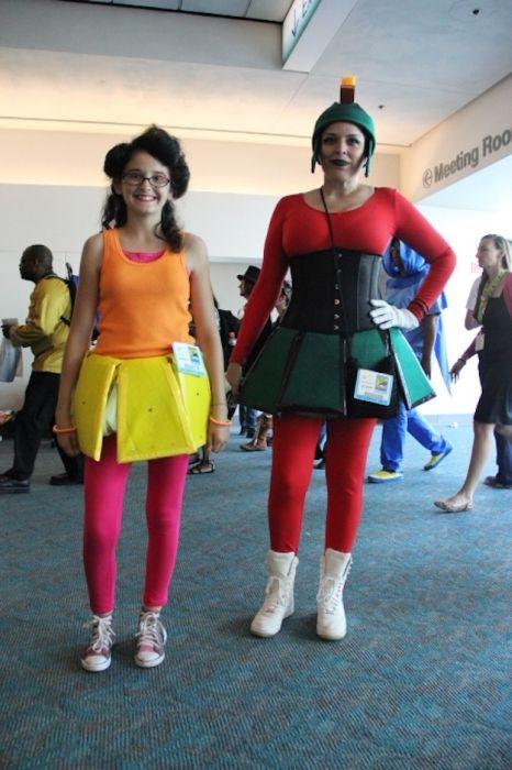 Chicas cosplay en la Comic-Con 2012. Crossplay_04