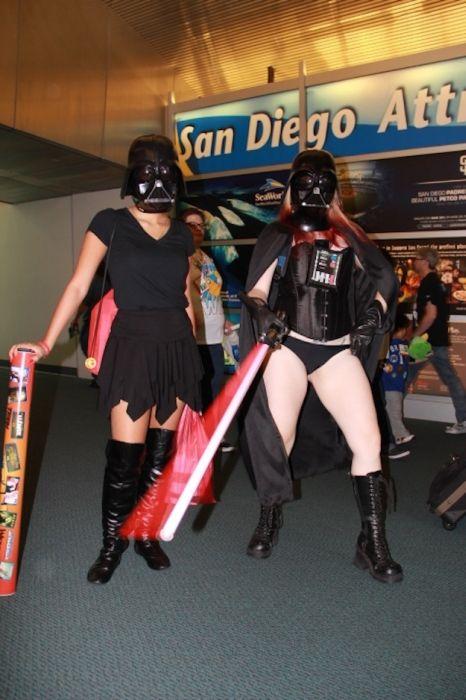 Chicas cosplay en la Comic-Con 2012. Crossplay_06