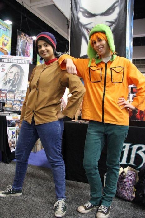 Chicas cosplay en la Comic-Con 2012. Crossplay_11