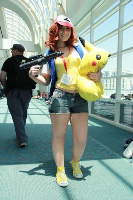 Chicas cosplay en la Comic-Con 2012. Crossplay_12