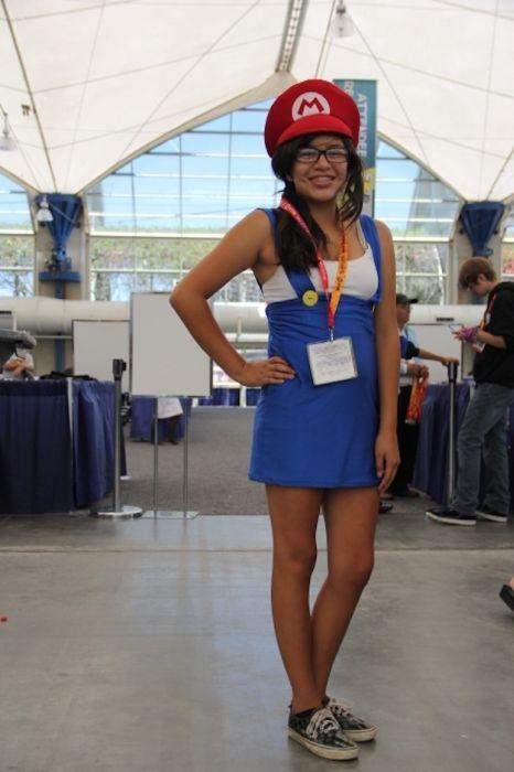 Chicas cosplay en la Comic-Con 2012. Crossplay_14