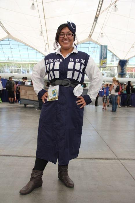 Chicas cosplay en la Comic-Con 2012. Crossplay_16
