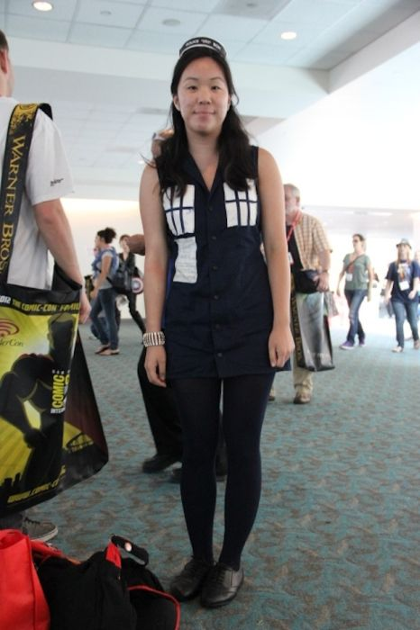 Chicas cosplay en la Comic-Con 2012. Crossplay_17