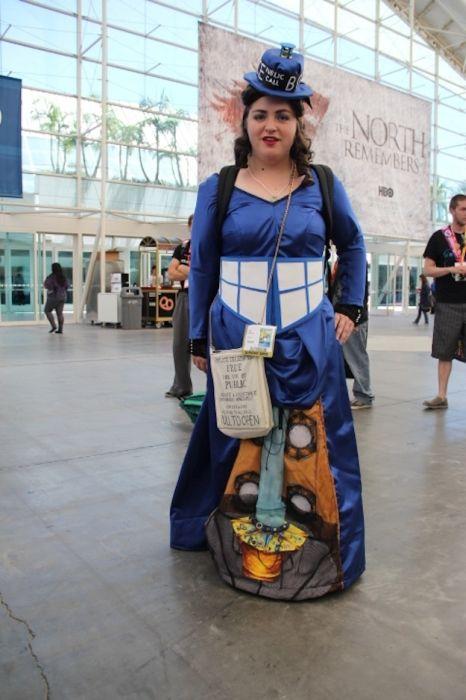 Chicas cosplay en la Comic-Con 2012. Crossplay_18