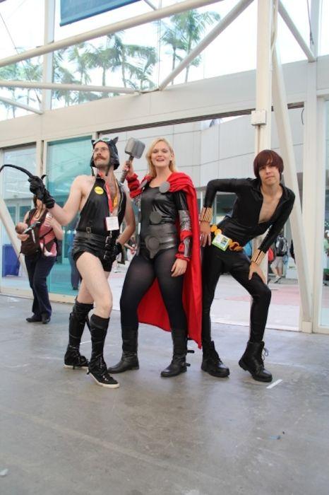 Chicas cosplay en la Comic-Con 2012. Crossplay_19