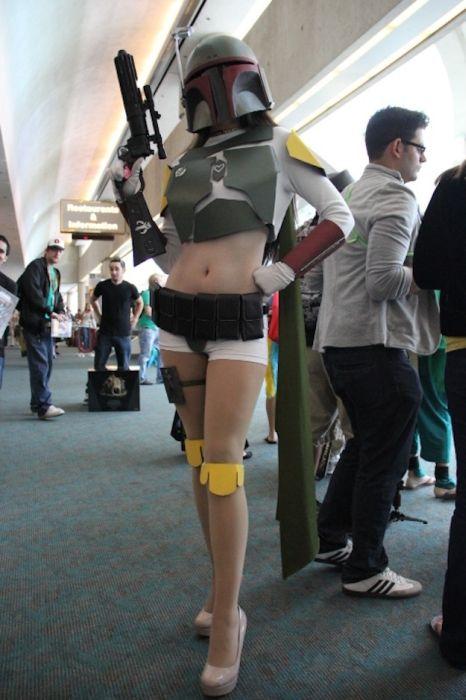 Chicas cosplay en la Comic-Con 2012. Crossplay_21