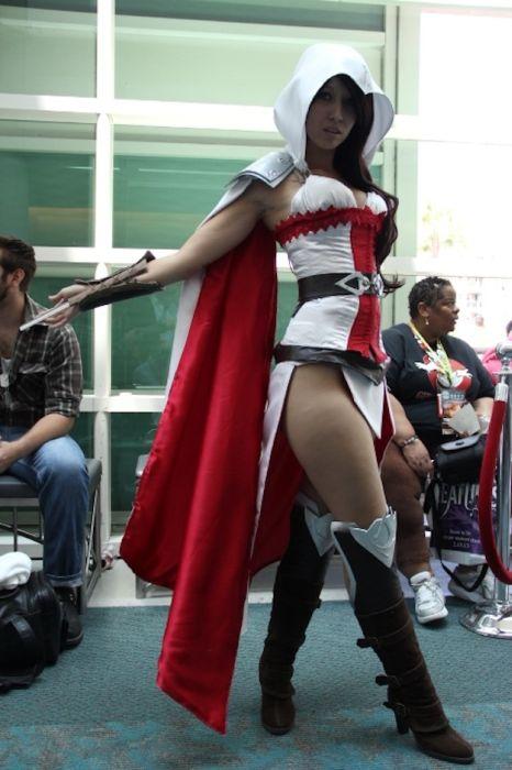 Chicas cosplay en la Comic-Con 2012. Crossplay_22