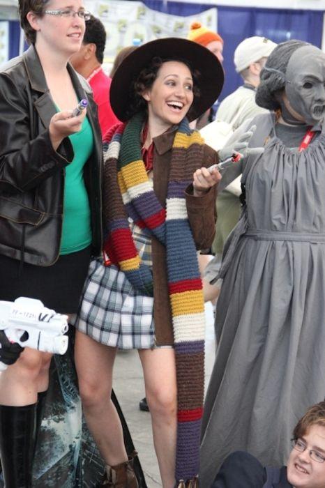 Chicas cosplay en la Comic-Con 2012. Crossplay_23