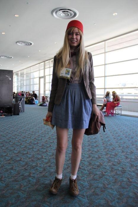 Chicas cosplay en la Comic-Con 2012. Crossplay_24