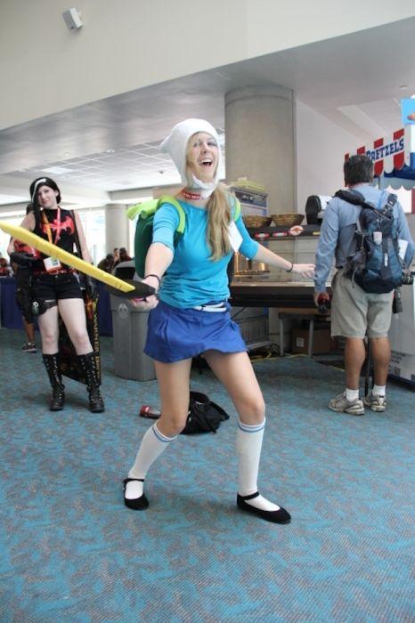 Chicas cosplay en la Comic-Con 2012. Crossplay_27