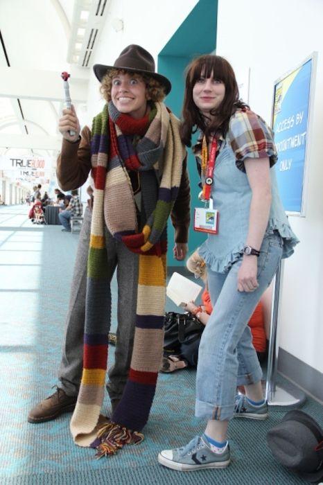 Chicas cosplay en la Comic-Con 2012. Crossplay_28