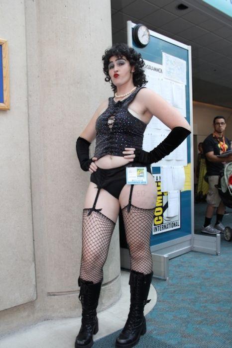 Chicas cosplay en la Comic-Con 2012. Crossplay_29