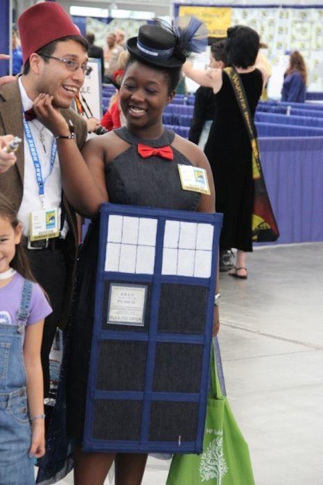 Chicas cosplay en la Comic-Con 2012. Crossplay_30