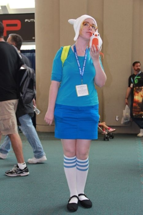 Chicas cosplay en la Comic-Con 2012. Crossplay_31