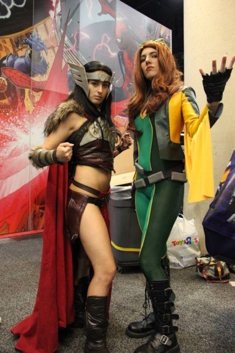Chicas cosplay en la Comic-Con 2012. Crossplay_33