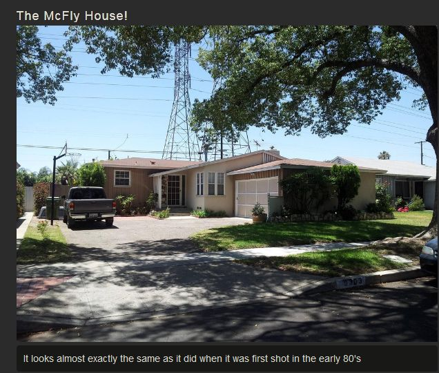 The McFly House! (3 pics)