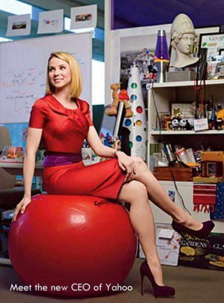 Yahoo's New CEO Marissa Mayer (10 pics)