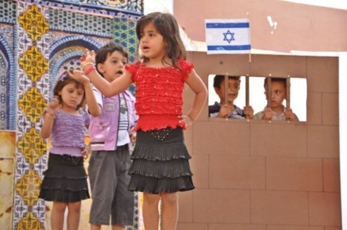 Kindergarten Graduation In Gaza (7 pics)