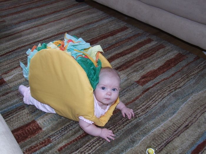 Babies Dressed As Food (30 pics)