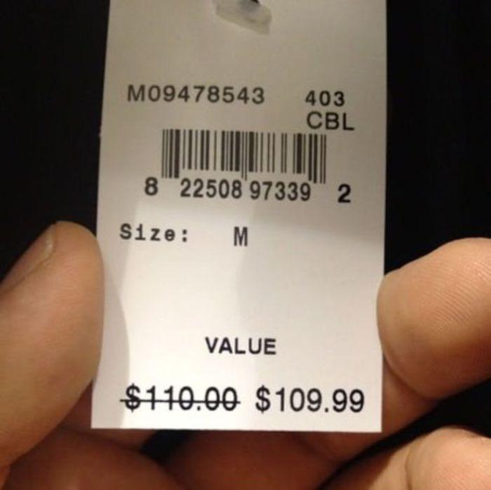 Jualan  Murah, Potongan harga