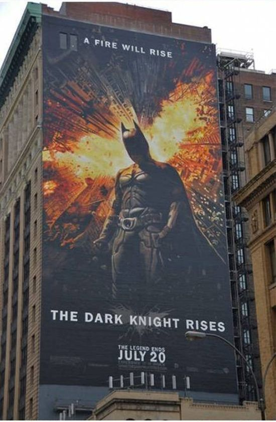 A Giant The Dark Knight Poster (12 pics)