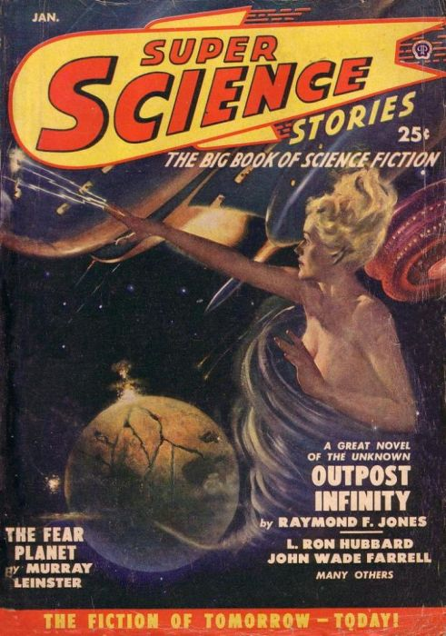 Vintage Covers of American Science Magazines (35 pics)