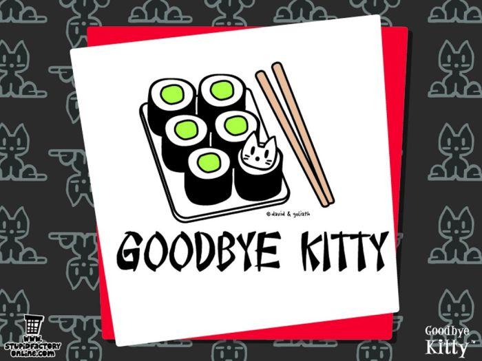 Goodbye Kitty (22 pics)