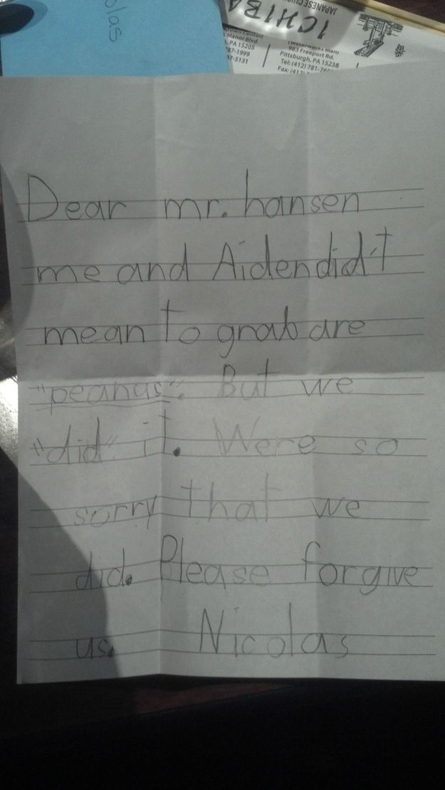 Journal Entries From Elementary Schoolers (23 pics)