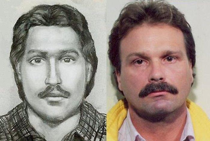 Extraordinarily Accurate Sketches of Criminals (9 pics)