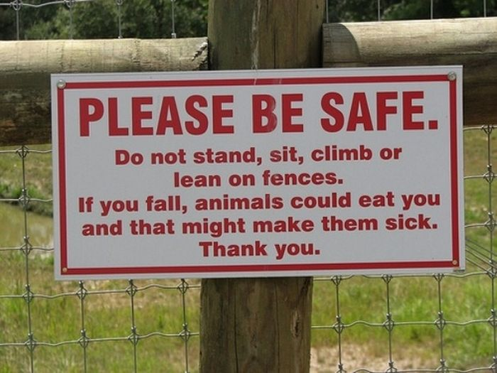 Funny Animal Signs (25 pics)