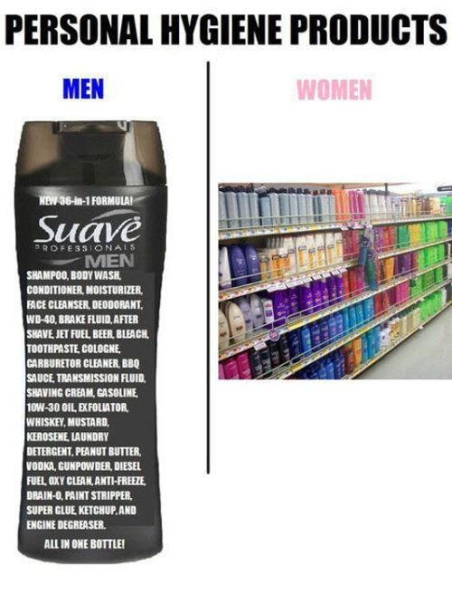 Men vs. Women (5 pics)
