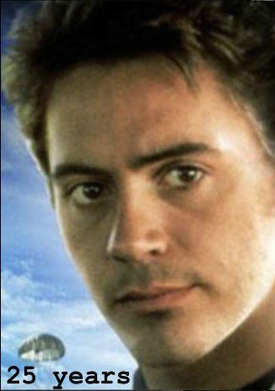 The Evolution of Robert Downey Jr (8 pics)