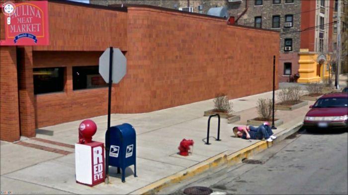 Interesting Things on Google Street View (47 pics)